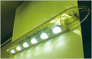 スペースマーカー(車外灯) 電材メーカーとの協同開発